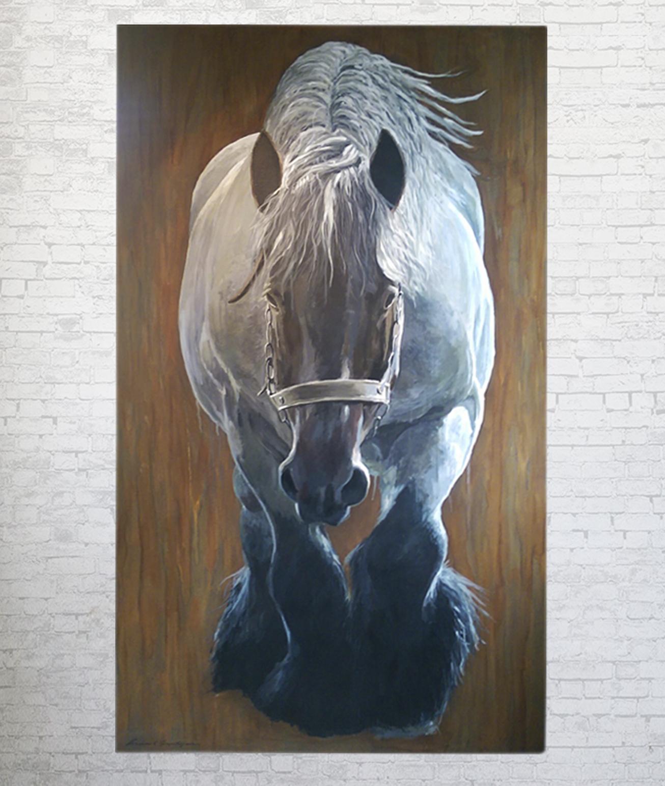 schilderij_drafthorse