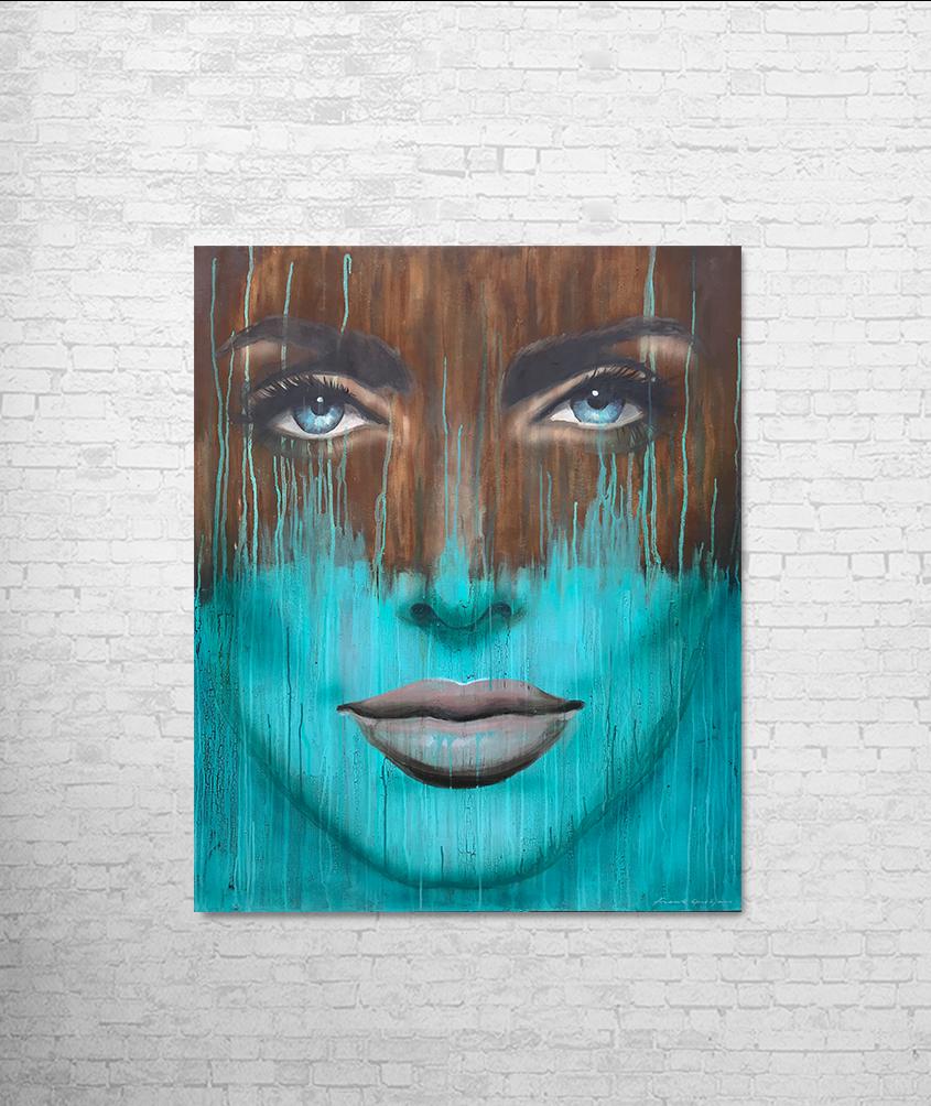Schilderij_Jolie